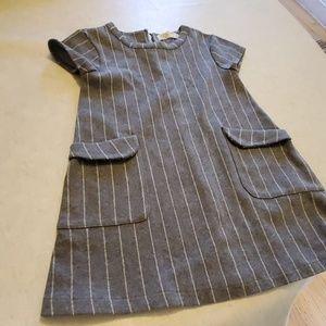 Zara girl soft collection jumper dress winter part